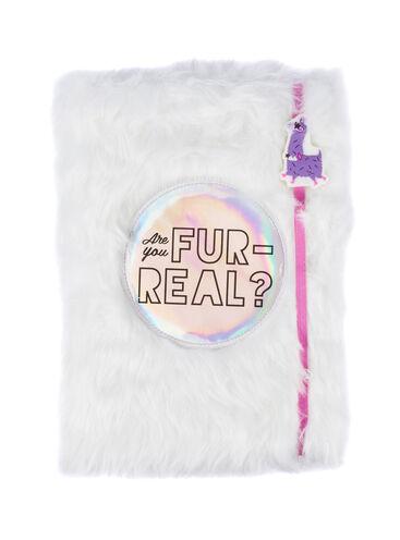 Fluffy llama notebook