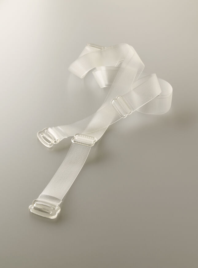 Clear bra straps DD plus
