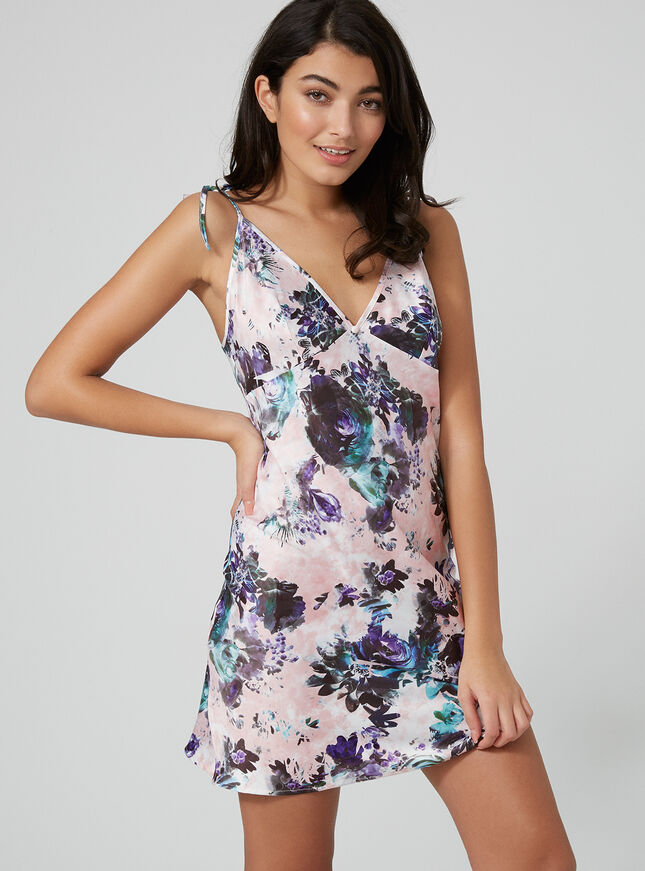 Bethany floral chemise
