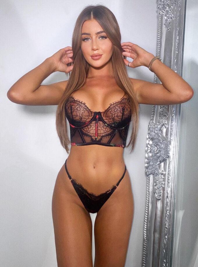 Carrie longline bra