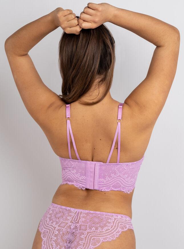 Sorelle longline lace bra