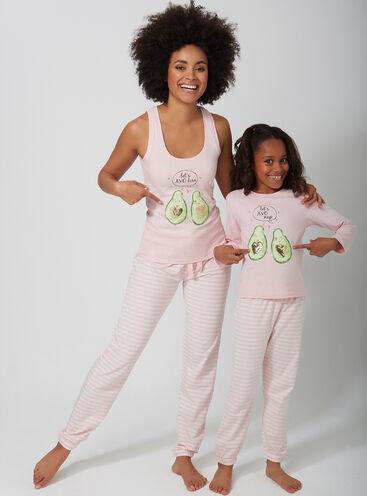 Avocado family pyjama set