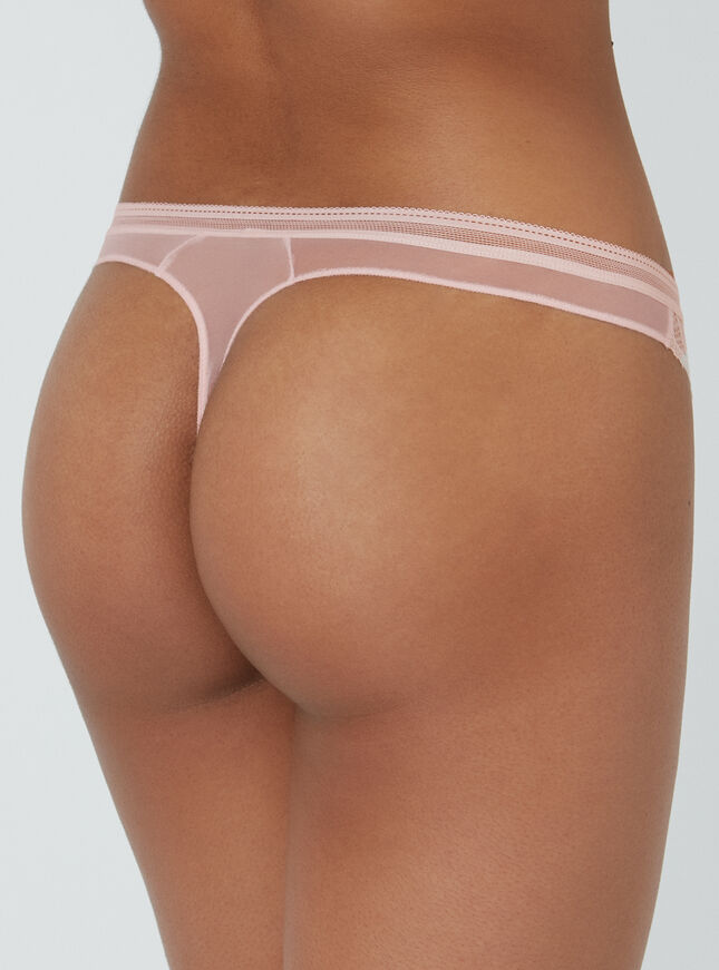 Lillie lace thong