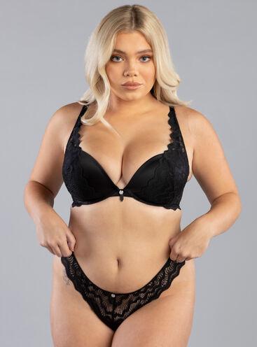 Dinah plunge lingerie set