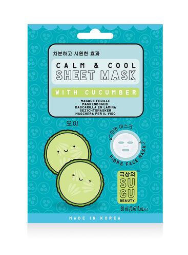Calm & cool cucumber sheet mask
