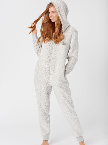 Frosted deer onesie