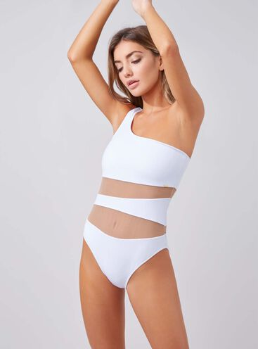 Larnaca one shoulder swimsuit