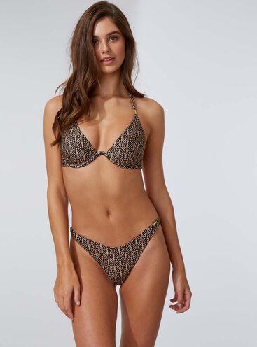 Ibiza aztec Brazilian bikini briefs