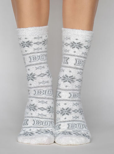 Fairisle Boux cosy socks
