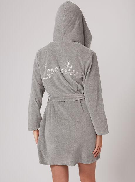 Love sleep dressing gown