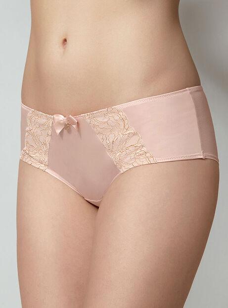 Henrietta sparkle satin shorts
