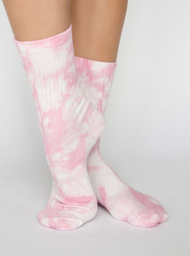 2 Pack Dream tie dye ankle sock