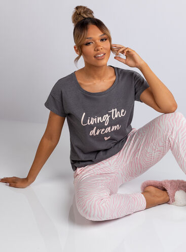 Living the dream pyjama set