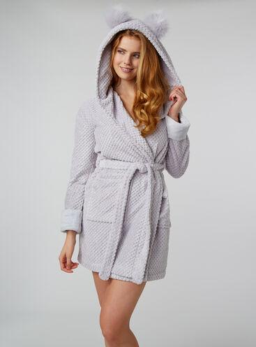 Winnie waffle dressing gown