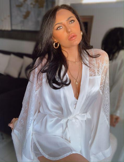 Bouxtique by Boux Avenue Elodie silk robe