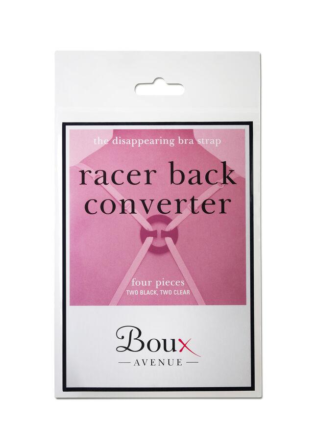 Racer back bra converter