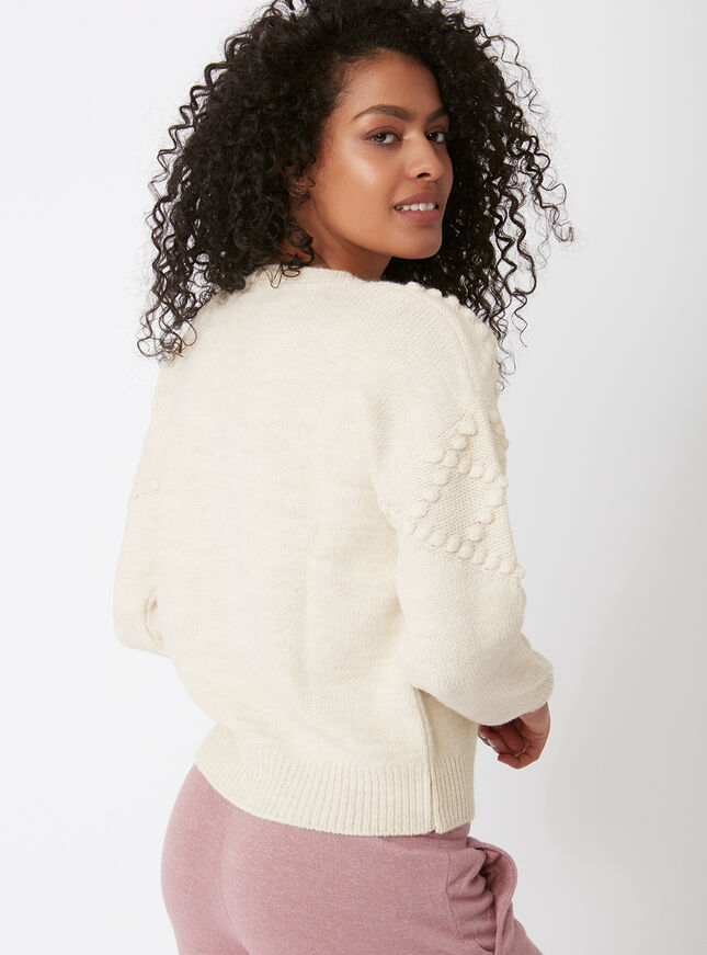 Bobble knit jumper
