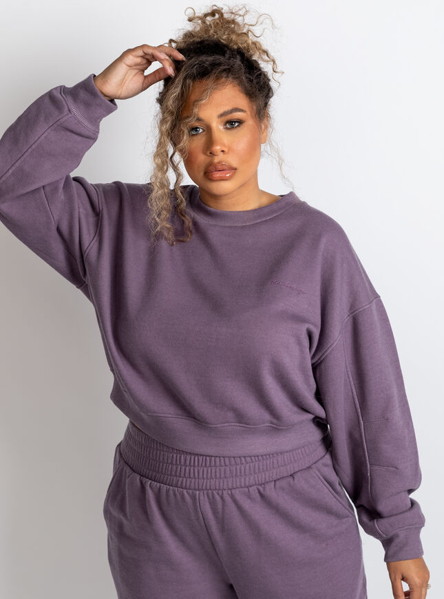 Boux lounge washed sweatshirt
