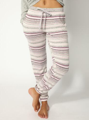 Nia stripey lounge pants