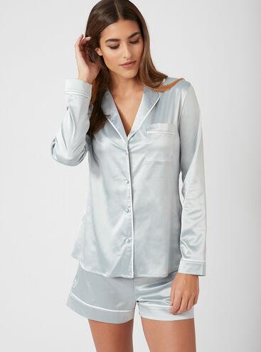 Rita satin short pyjama set