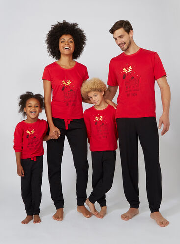 Dashund family pyjama set