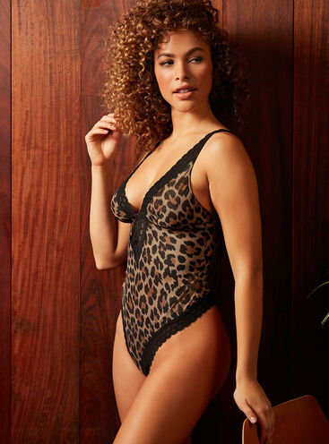 Tallulah leopard thong body