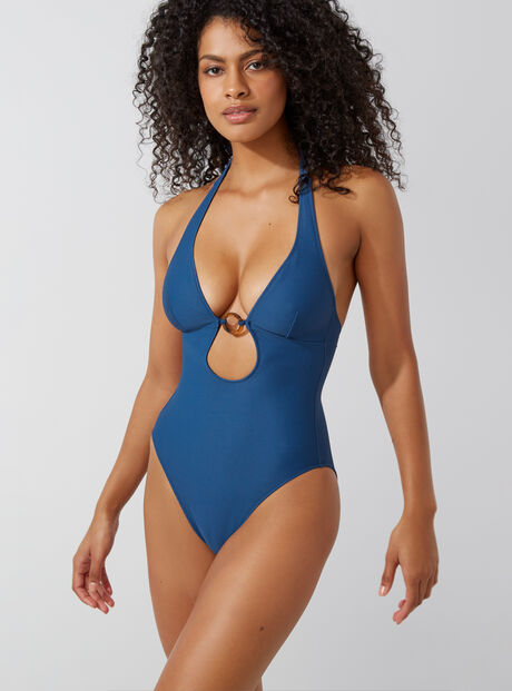Antibes ribbed swimsuit