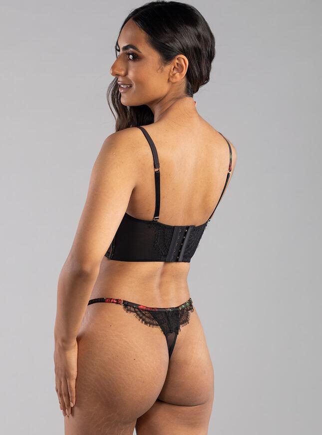 Carrie longline lingerie set
