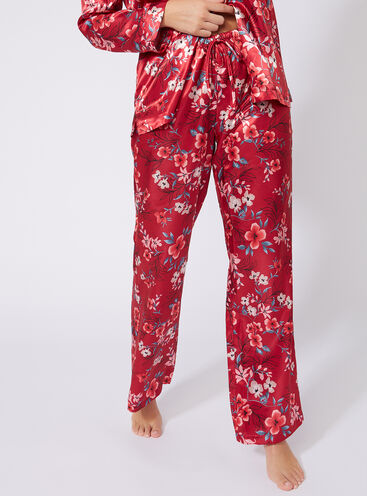 Oriental bloom pyjama pants
