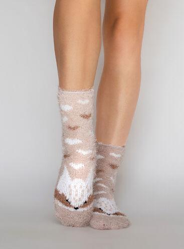 Fox cosy socks