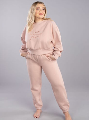 Lounge sweat jogger