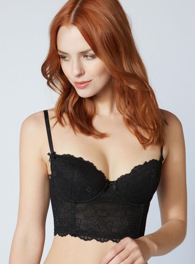 Chloe lace longline bra. Model wears size 32C f4331003e