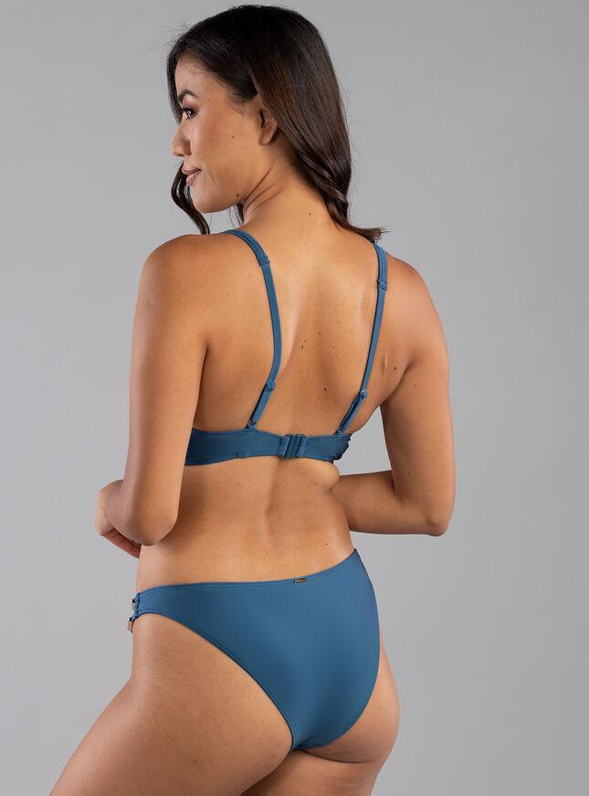 Alcudia high apex bikini top
