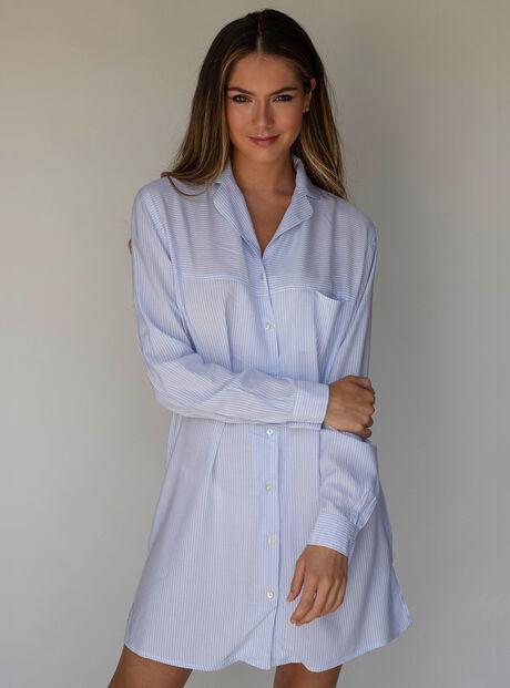Pretty stripe nightshirt