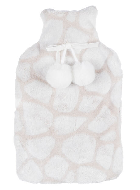 Giraffe hot water bottle