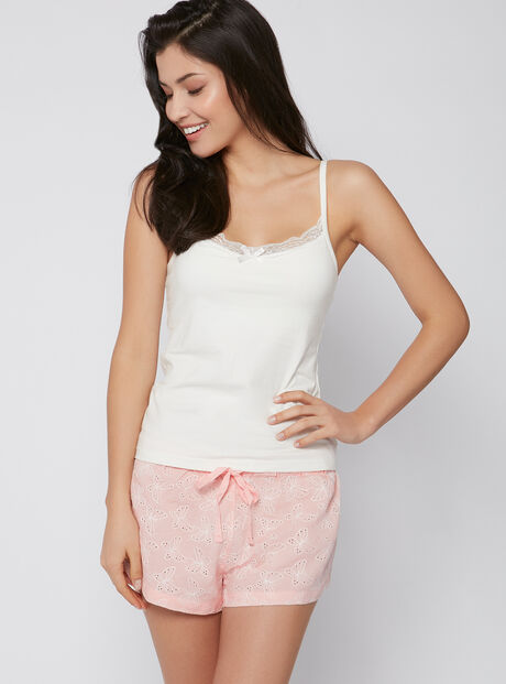 Butterfly cami and shorts pyjama set