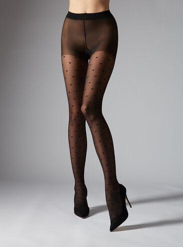 Spotty tights
