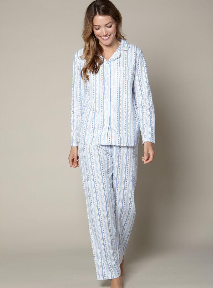 b972a9b37 Floral Stripe Pyjamas In A Bag