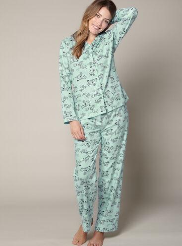 Woodland pyjamas in a bag