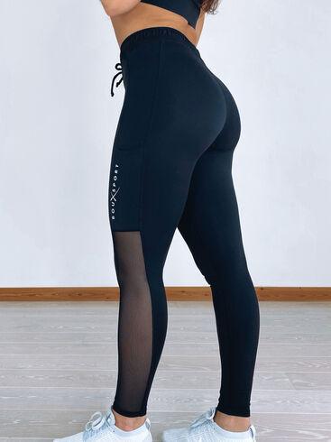 Boux Sport mesh panelled leggings