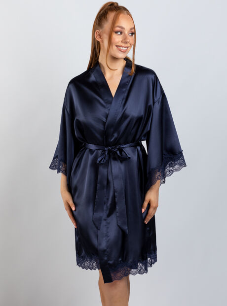 Marnie lace robe