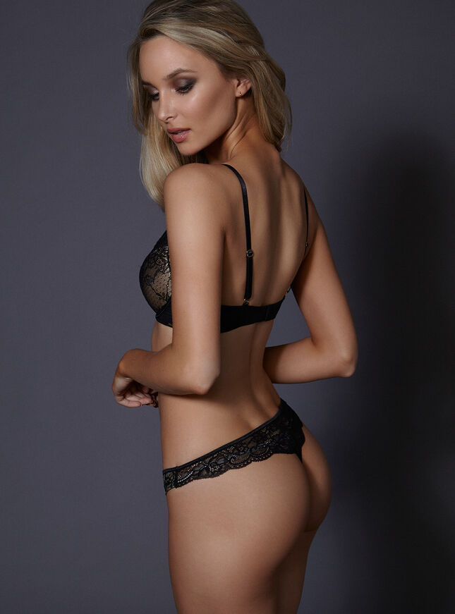 Aisha  high front bra