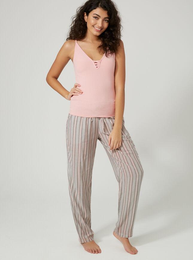 Stripe pyjama pants