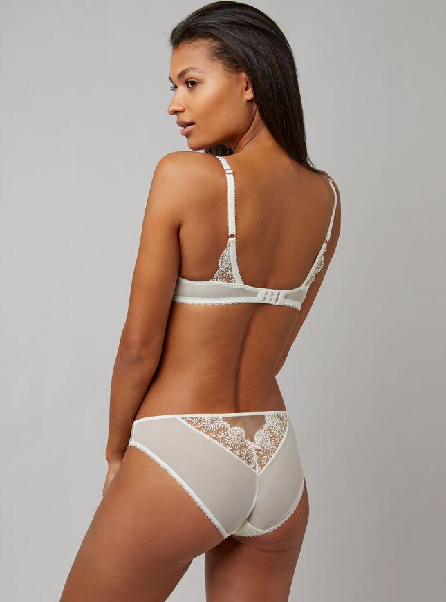 Tessie unpadded plunge lingerie set