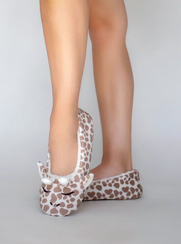 Giraffe pump slippers