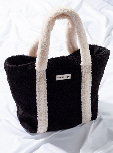 Boux lounge teddy tote bag