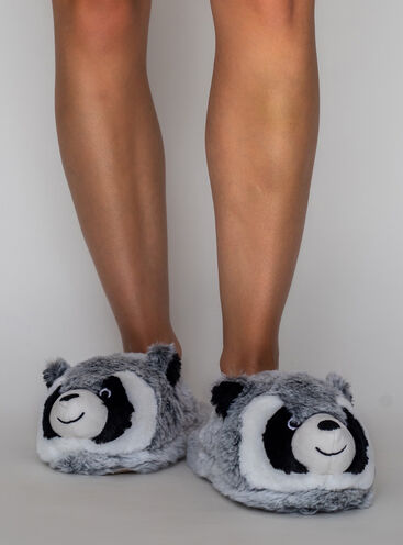 Racoon slippers