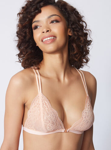 Erica non-padded triangle bra