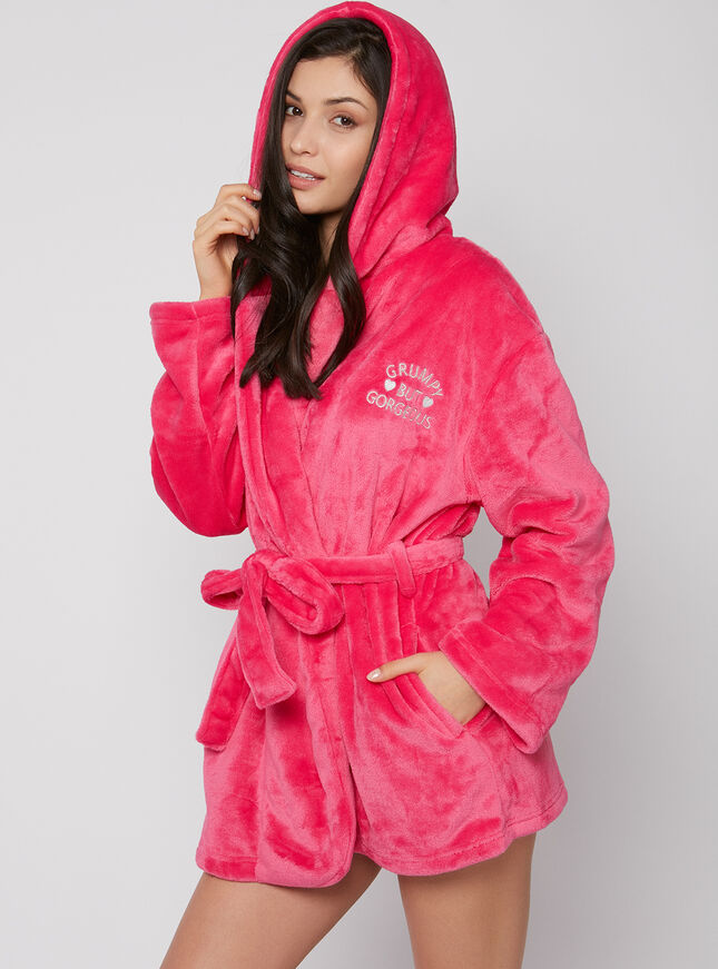 """Grumpy but gorgeous"" robe"