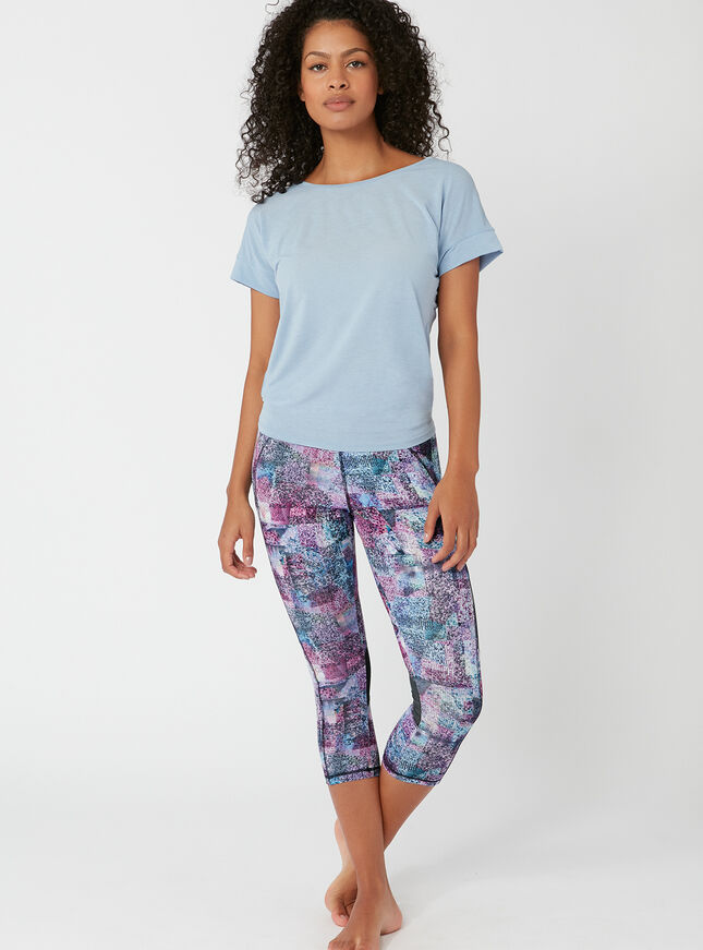 Activewear abstract 7/8 leggings